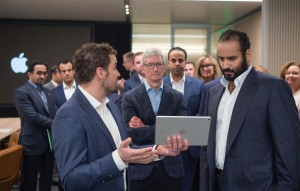 Prince Mohammad at Apple